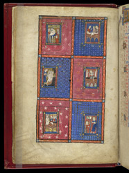 Scenes Following The Death Of Christ, Cut From Another Manuscript, And Inserted In The 'Alphonso' Psalter